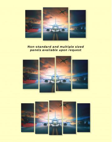 Aircraft Airport Canvas Wall Art - image 2
