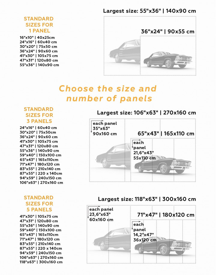 Chevrolet Impala  Canvas Wall Art - Image 2