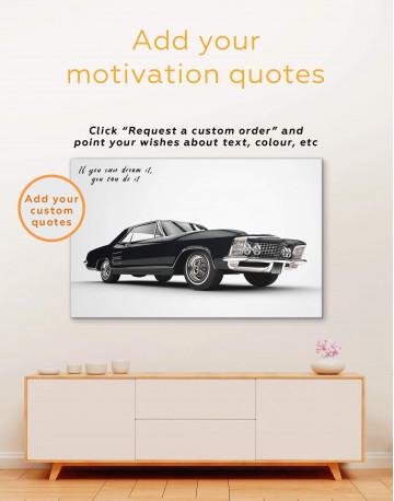 Chevrolet Impala Canvas Wall Art - image 1
