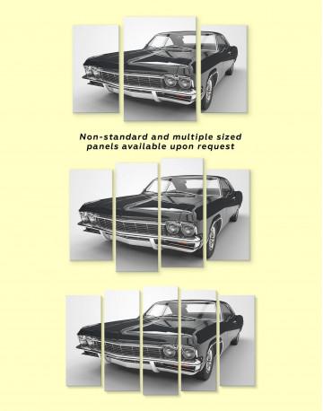 Chevrolet Impala 1965 Canvas Wall Art - image 1