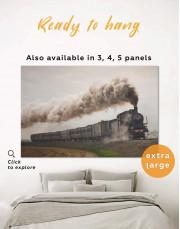 Locomotive Canvas Wall Art - Image 0