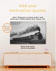 Locomotive Canvas Wall Art - Image 3