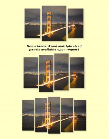 Golden Gate Bridge San Francisco Canvas Wall Art - image 1