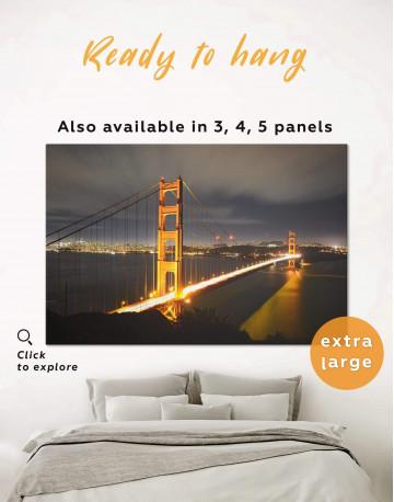 Golden Gate Bridge San Francisco Canvas Wall Art