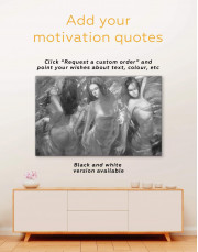 Sensual Women Canvas Wall Art - Image 1