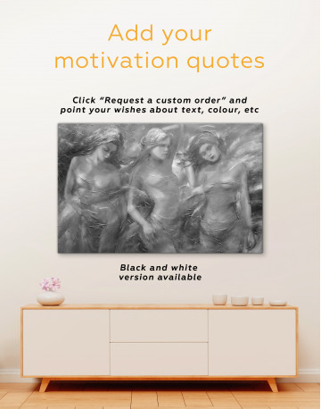 Female Figures Painting Canvas Wall Art - image 1