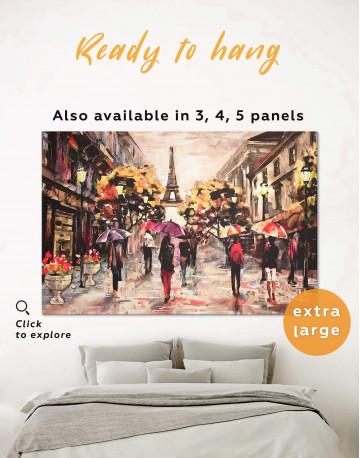 Romantic Paris Canvas Wall Art