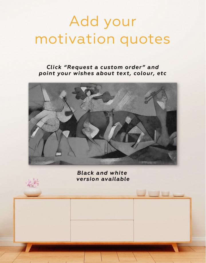 Joie De Vivre Picasso Canvas Wall Art - Image 1