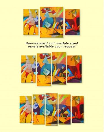 Joie De Vivre Canvas Wall Art - image 2