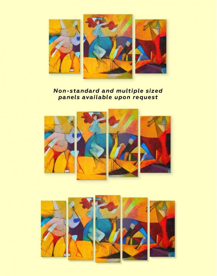Joie De Vivre Picasso Canvas Wall Art - Image 2