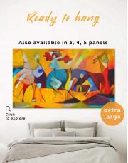 Joie De Vivre Picasso Canvas Wall Art