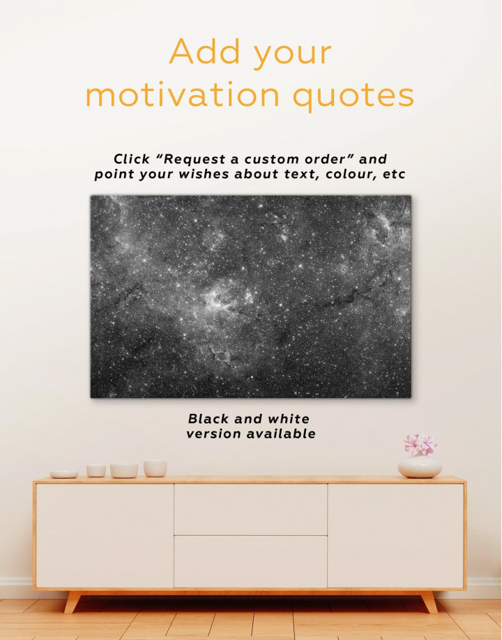 Space View Canvas Wall Art - Image 1