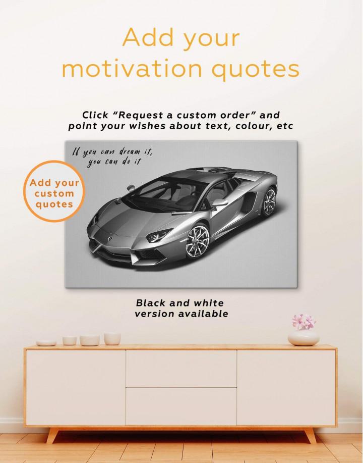 Lamborghini Aventador SVJ Canvas Wall Art - Image 3