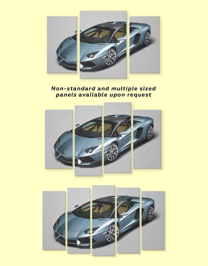 Lamborghini Aventador SVJ Canvas Wall Art - Image 1