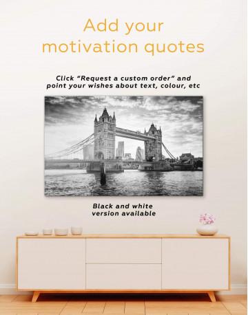 London Tower Bridge Canvas Wall Art - image 3