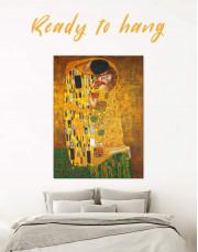 The Kiss by Gustav Klimt Canvas Wall Art