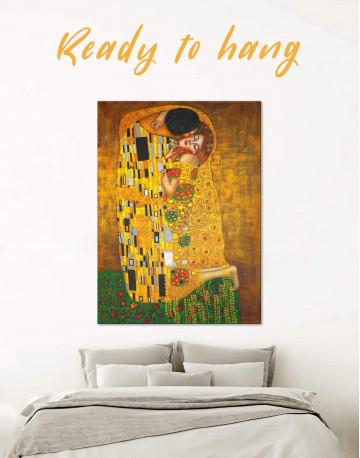 The Kiss Canvas Wall Art