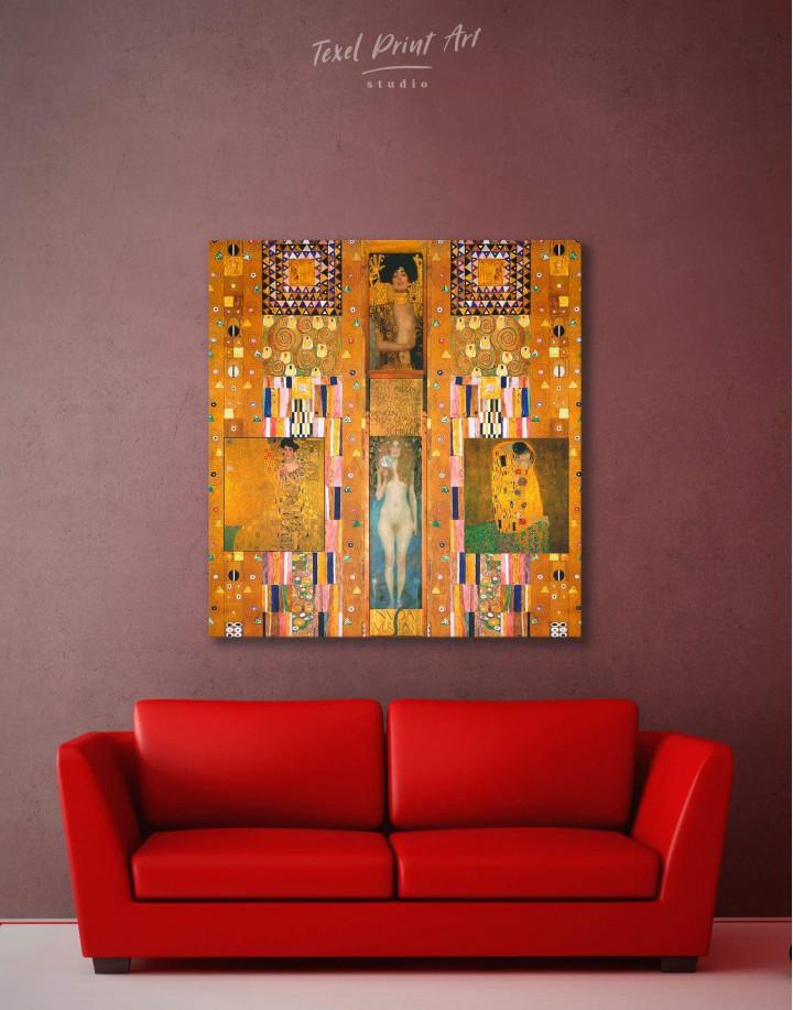 Gustav Klimt Paintings Set Canvas Wall Art - Image 2