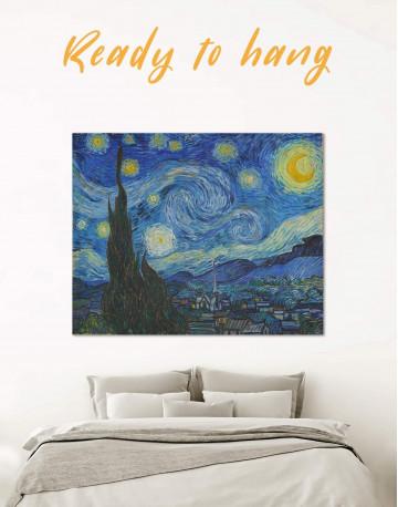 Starry Night Canvas Wall Art