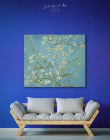 Almond Blossom Canvas Wall Art - image 2