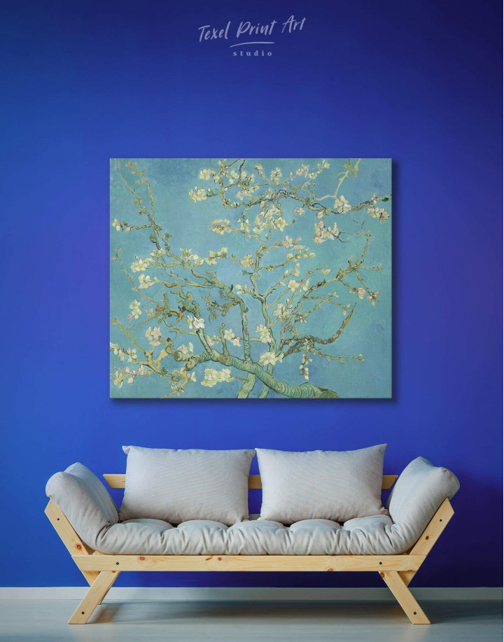 Van Gogh Almond Blossom Canvas Wall Art - Image 2