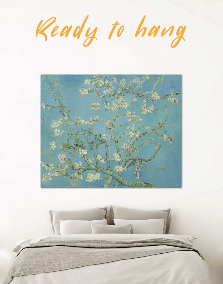 Van Gogh Almond Blossom Canvas Wall Art - Image 0