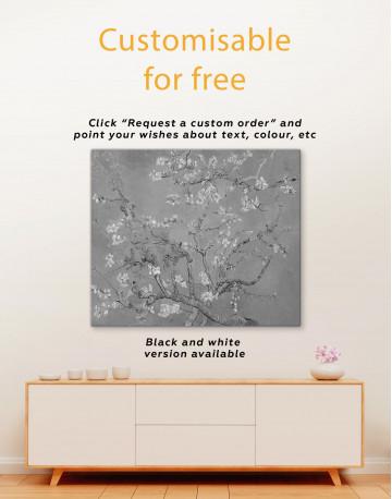 Almond Blossom Canvas Wall Art - image 3