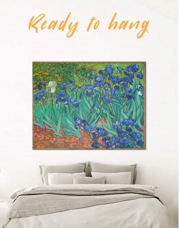 Irises Canvas Wall Art