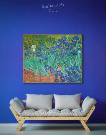 Irises Canvas Wall Art - image 2