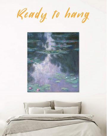 Water Lillies Canvas Wall Art