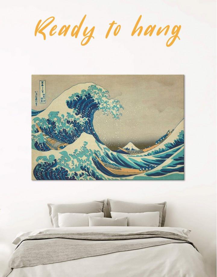 Great Wave Off Kanagawa Canvas Wall Art