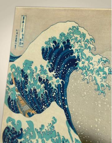 Great Wave Off Kanagawa Canvas Wall Art - image 1