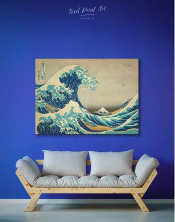 Great Wave Off Kanagawa Canvas Wall Art - image 2