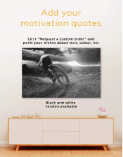 Bicycle Sporting Canvas Wall Art - Image 3