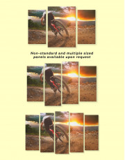 Bicycle Sporting Canvas Wall Art - Image 1