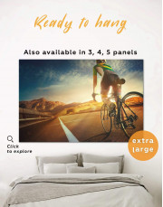 Bicycle Sport Canvas Wall Art - Image 0
