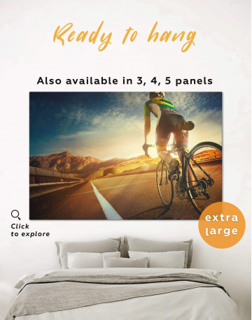 Bicycle Sport Canvas Wall Art