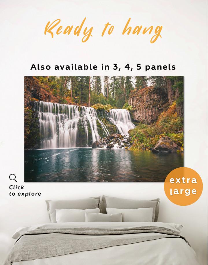 McCloud River Falls Canvas Wall Art