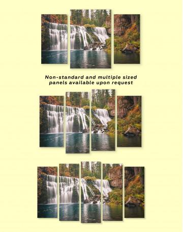 McCloud River Falls Canvas Wall Art - image 3