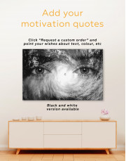 Hurricane Eyes From Space Canvas Wall Art - Image 1