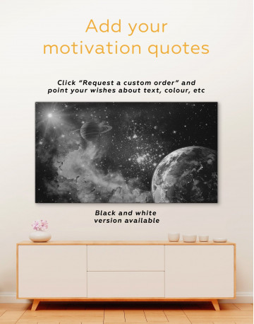 Cosmos View Canvas Wall Art - image 1