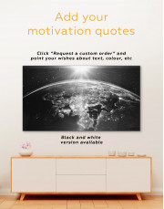 Earth View Canvas Wall Art - Image 3