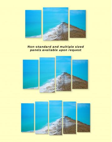 Sea Landscape Canvas Wall Art - image 1