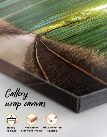Japanese Bamboo Garden Canvas Wall Art - image 4