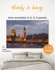 London City Skyline  Canvas Wall Art - Image 0