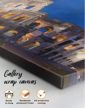 Coliseum Rome Italy Canvas Wall Art - image 4