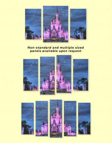 Disney Castle Canvas Wall Art - image 3