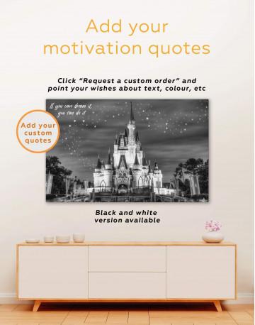 Disney Castle Canvas Wall Art - image 4