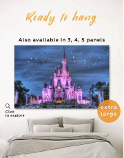 Disney Castle Canvas Wall Art