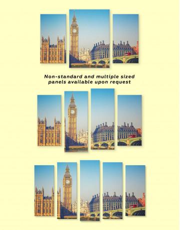 London Great Britain Capital Canvas Wall Art - image 3